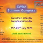 Weekend Congress - Pairs, Teams on BBO